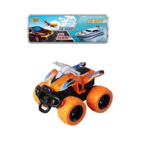 Купить Квадроцикл Yako На земле, В небе, На море (M0438) оранжевый, Машинки и техника