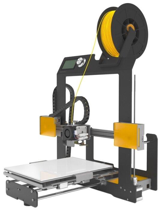 3D-принтер BQ Hephestos 2 черный/желтый фото 1