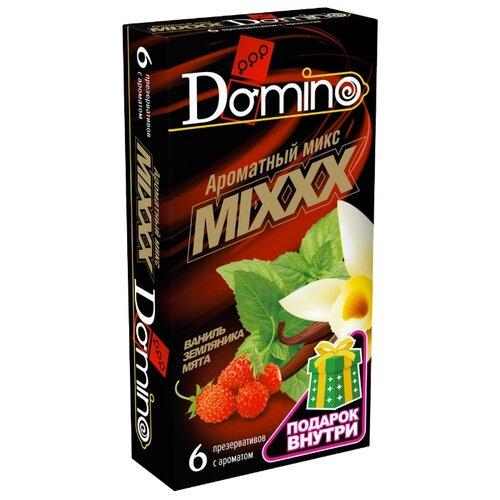 Презервативы DOMINO Ароматный микс (6 шт.)