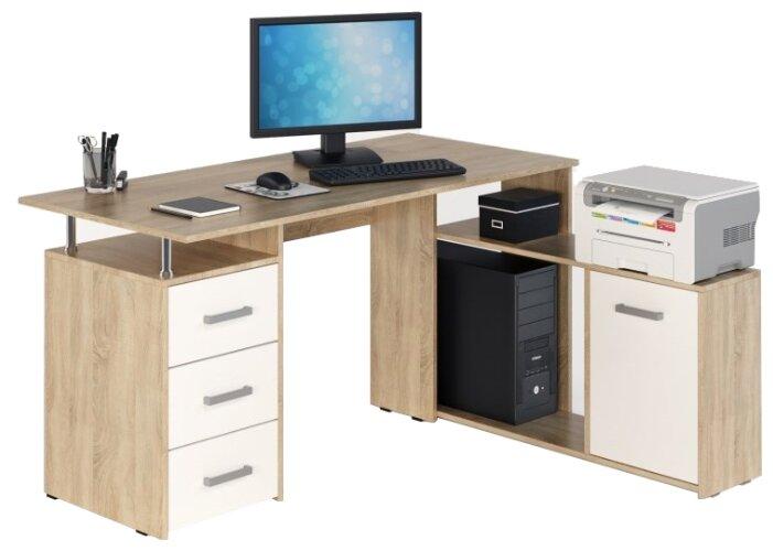 Компьютерный стол угловой Фабрика мебели JAZZ КС-14 — купить по выгодной цене на Яндекс.Маркете