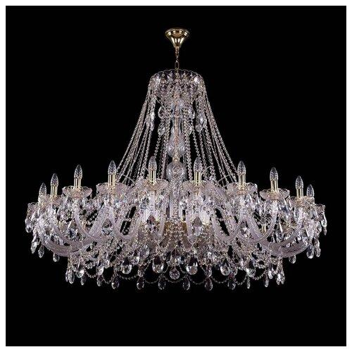 Люстра Bohemia Ivele Crystal 1411 1411/24/530/G, E14, 960 Вт bohemia ivele crystal подвесная люстра 1411 12 380 72 g