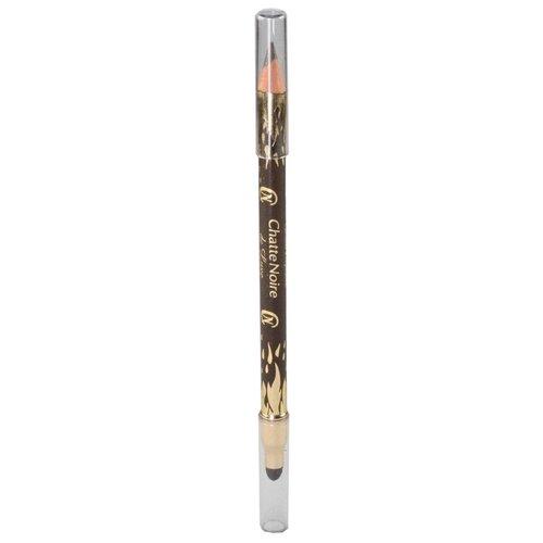 Chatte Noire Карандаш для век De Luxe, оттенок №308 темно-коричневый