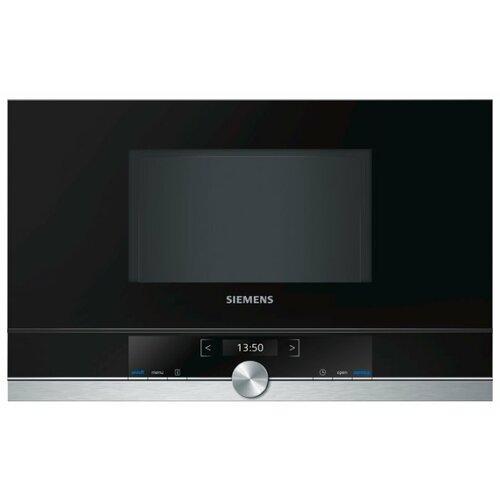 Фото - Микроволновая печь встраиваемая Siemens BF634LGS1 встраиваемая микроволновая печь siemens bf634rgs1