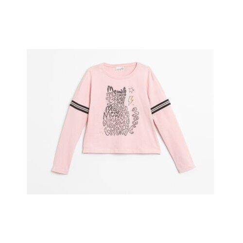 Купить Лонгслив COCCODRILLO размер 152, розовый, Футболки и майки