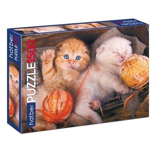 Пазл Hatber Premium Котиков много не бывает (1500ПЗ1_19274), 1500 дет. набор тетрадей hatber классика 12т5в2