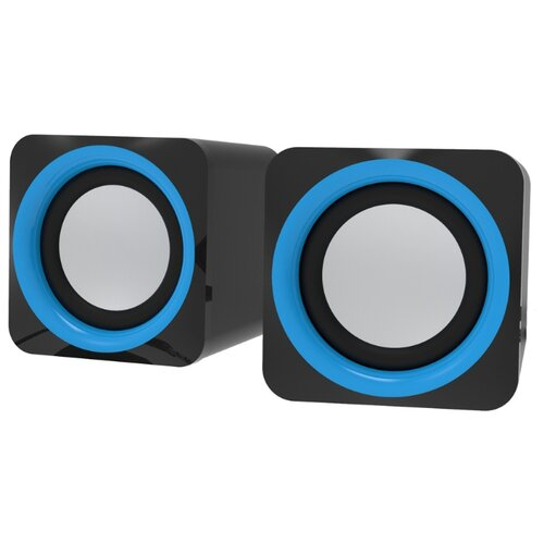 Компьютерная акустика Ritmix SP-2025 черно-синий компьютерная акустика genius sp u120 31731057100