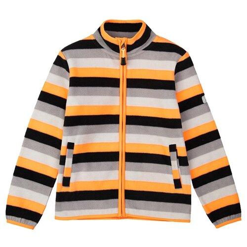 Купить Олимпийка playToday размер 98, черный/серый/оранжевый, Толстовки