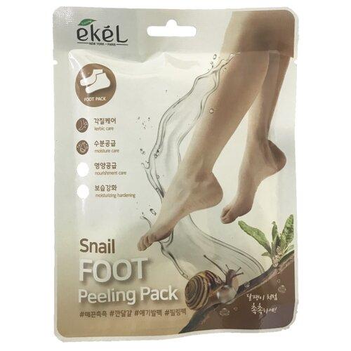 Купить Ekel Пилинг-носочки с улиточным муцином 40 г пакет