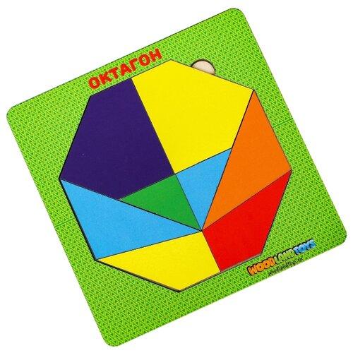 Купить Головоломка Woodland Октагон 83214 многоцветный, Головоломки