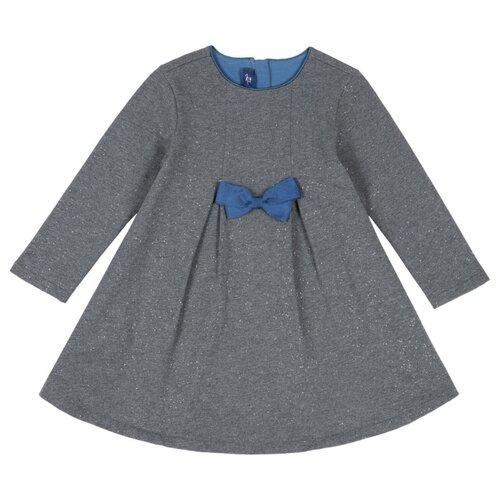 Платье Chicco размер 92, темно-серый