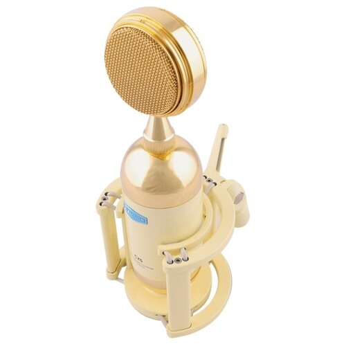 Микрофон Alctron CX5, белый/золотистый