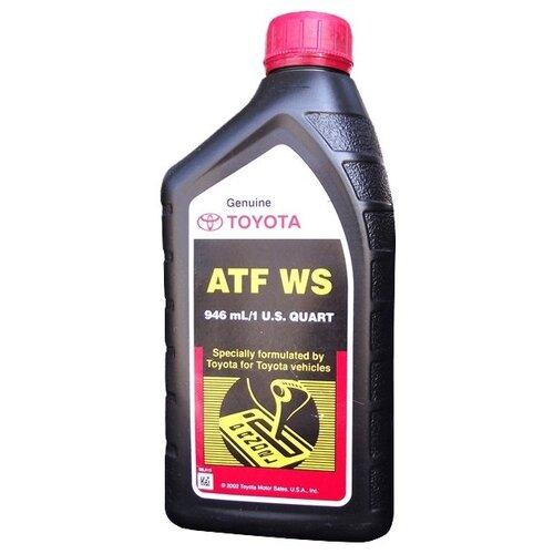 Трансмиссионное масло TOYOTA ATF WS 0.9 л