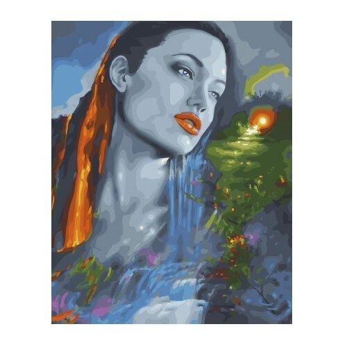 Купить ВанГогВоМне Картина по номерам Анджелина на закате , 40х50 см (ZX 22300), Картины по номерам и контурам