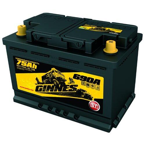 Автомобильный аккумулятор GINNES ST GS7501