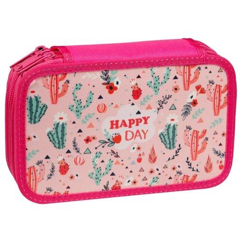 Купить ArtSpace Пенал Happy day (П25_3_23138) розовый, Пеналы