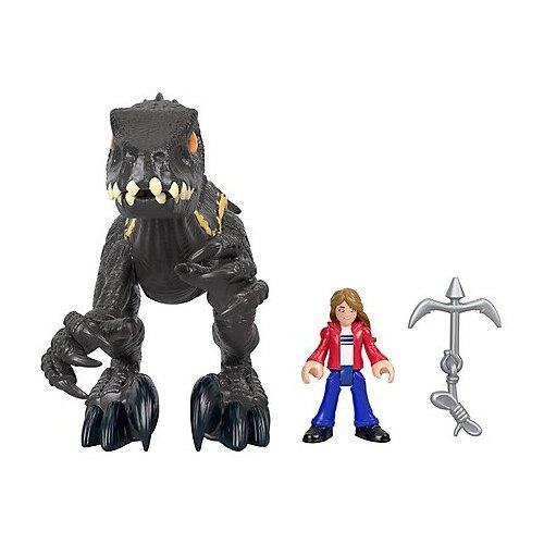 Купить Игровой набор Imaginext Imaginext Jurassic World Мейзи и индораптор GKL51, Игровые наборы и фигурки