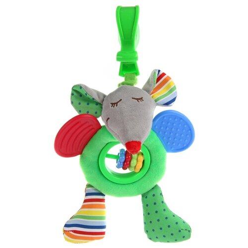 Купить Подвесная игрушка Ути-Пути Мышка (84203) зеленый, Подвески