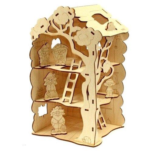 Сборная модель Woody Дом-дерево для Лешиков.