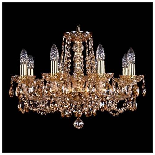 Люстра Bohemia Ivele Crystal 1402 1402/8/195/G/M721, E14, 320 Вт