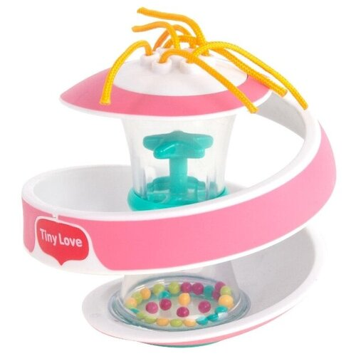 Погремушка Tiny Love Чудо-шар розовый подвес tiny love погремушка бабочка мэри