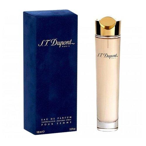 Парфюмерная вода S.T.Dupont S.T. Dupont pour Femme, 100 мл khalis reev night rose pour femme парфюмерная вода женская 100 мл