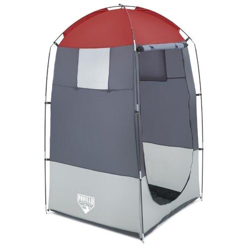 Тент кемпинговый Bestway Палатка-кабинка 68002, серый/красный