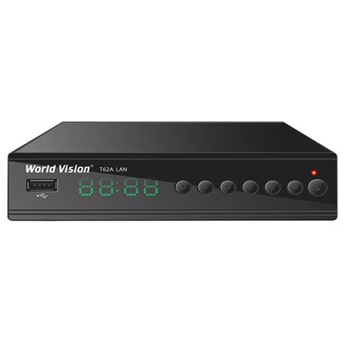 TV-тюнер World Vision T62A LAN черный недорого