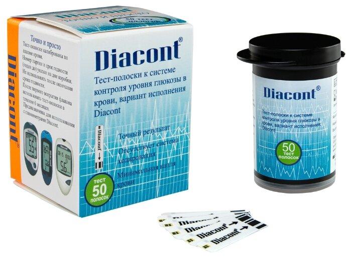 Diacont тест полоски
