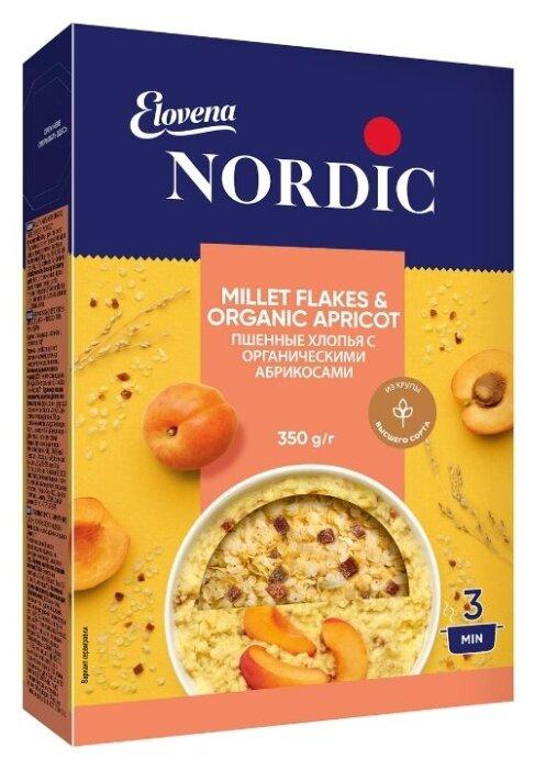 Купить Хлопья пшенные с органическими сушеными абрикосами NORDIC, 350 г по низкой цене с доставкой из Яндекс.Маркета