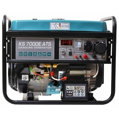 цена на Бензиновый генератор K&S Könner & Söhnen KS 7000E ATS (5000 Вт)