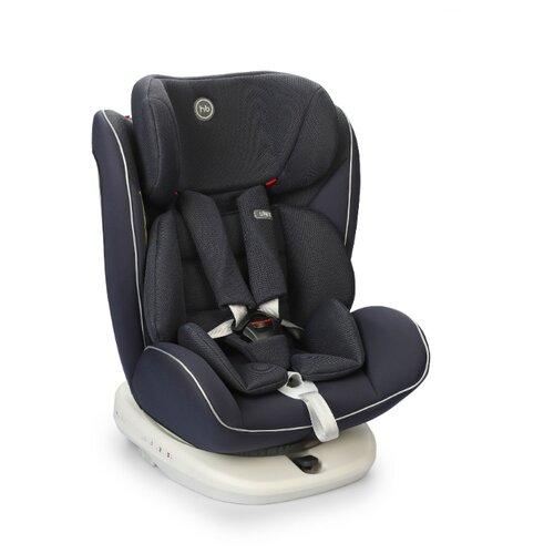 Фото - Автокресло группа 0/1/2/3 (до 36 кг) Happy Baby Unix Isofix, navy blue автокресло группа 0 1 до 18 кг stm galaxy pro navy
