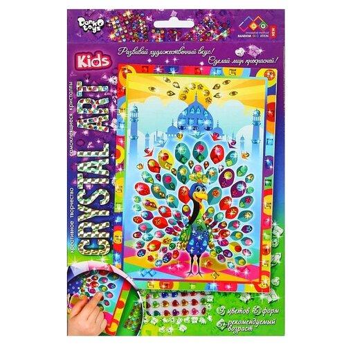 Купить Danko Toys Набор алмазной вышивки Crystal Art Павлин (Cart-01-06), Алмазная вышивка
