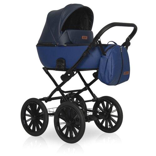 Универсальная коляска Riko Ozon Prestige (2 в 1), 01 графит-синий универсальная коляска riko ozon 2 в 1 01