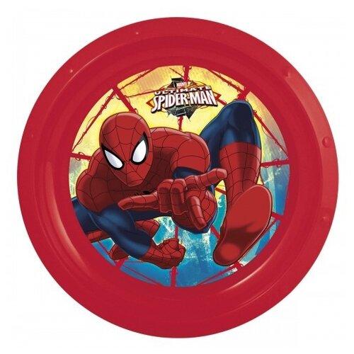 Фото - Stor Тарелка Человек-паук Красная паутина 23 см красный stor тарелка леди баг 23 см красный