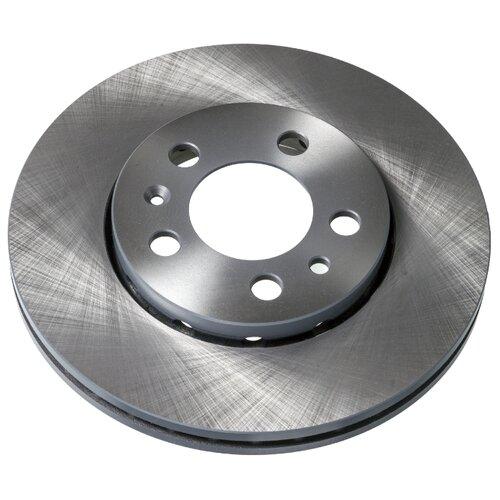 Комплект тормозных дисков передний Febi 14404 256x22 для Audi, SEAT, Skoda, Volkswagen (2 шт.) комплект тормозных дисков передний febi 31767 241x19 для hyundai accent 2 шт