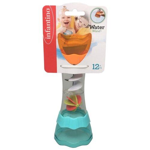 Фото - Игрушка для ванной Infantino Водоворот голубой/оранжевый/прозрачный игрушка для ванной funny ducks ныряльщик уточка 1864 желтый оранжевый голубой