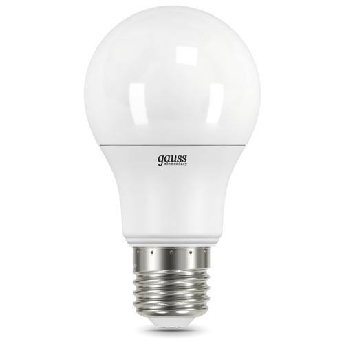 Лампа светодиодная gauss 23217А, E27, A60, 7Вт лампа светодиодная gauss 23219 e27 a60 20вт