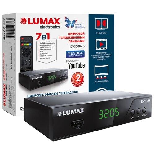 Фото - TV-тюнер LUMAX DV-3205HD tv тюнер lumax dvbt2 555hd черный
