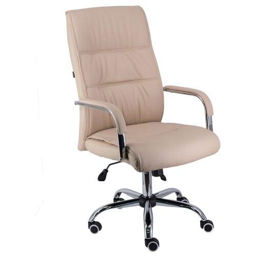 Фото - Компьютерное кресло Everprof Bond TM для руководителя, обивка: искусственная кожа, цвет: бежевый компьютерное кресло everprof trend tm для руководителя обивка искусственная кожа цвет черный