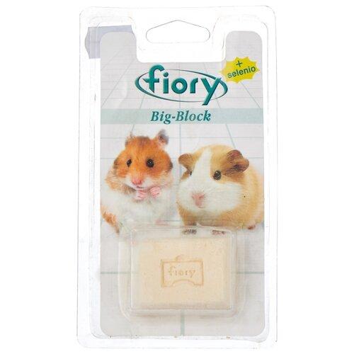 Лакомство для грызунов Fiory Big-Block с селеном 55 г fiory fiory бисквиты для грызунов biscottelli с ягодами 35 г
