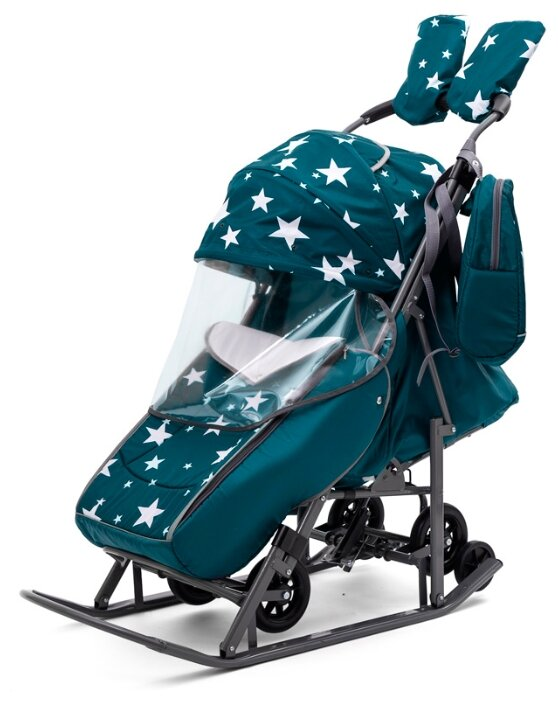 Санки-коляска Pikate Звезды