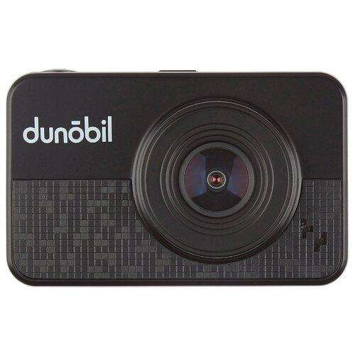 Видеорегистратор Dunobil Rex Duo GPS, 2 камеры, GPS черный
