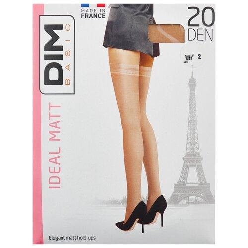 цена Чулки DIM Basic Ideal Matt 20 den, размер 2, телесный (бежевый) онлайн в 2017 году