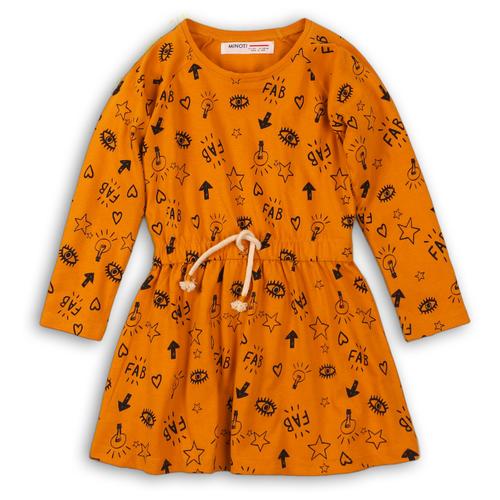 Платье Minoti размер 11-12 л, желтый