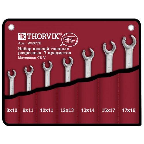 Фото - Набор гаечных ключей Thorvik W4S7TB, 7 предм. набор гаечных ключей thorvik 6 предм orws006