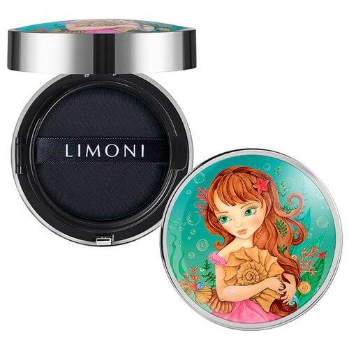 Limoni Тональный флюид All Stay Cover Cushion SPF 35 / PA++ Sea Princess, 15 г, оттенок: 01