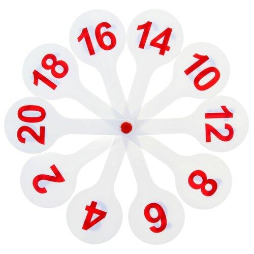 Набор цифр СТАММ Касса (веер) цифры от 1 до 20 веер стамм учим буквы