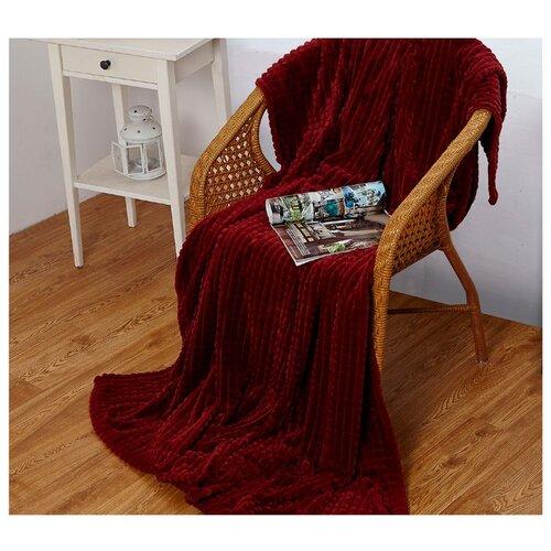 Плед Cleo Carre 180x200 см, красный костюм домашний cleo cleo mp002xw1h0vu