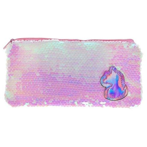 Calligrata Пенал Единорог (4172121) розовый