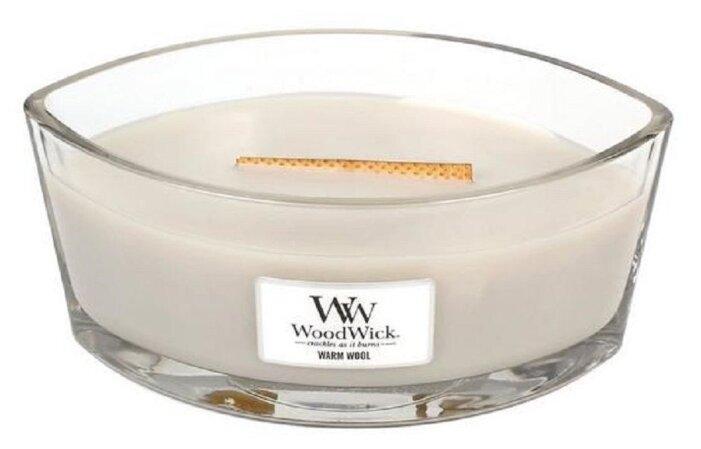 Свеча WoodWick Warm Wool (76052), эллипс